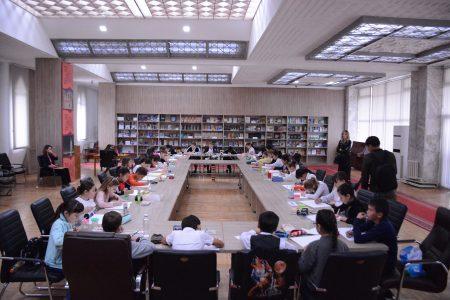 Читальный зал арабского центра