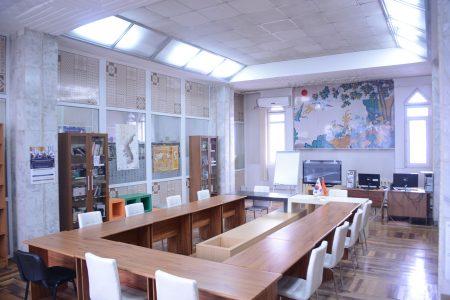 Читальный зал корейского центра