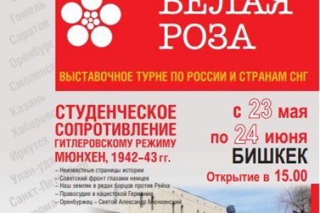 «Белая роза» выставочное турне по России и странам СНГ