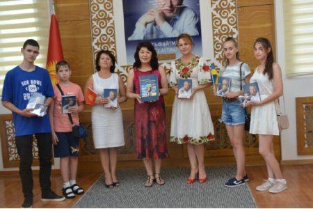 Победители всеукраинского конкурса детских рисунков  «По страницам книг Ч. Айтматова»