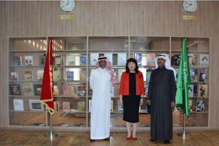 Визит главы Национальной библиотеки Саудовской Аравии им. Короля Фахада –  Сулейман бин Юсуф Аль-Масууд