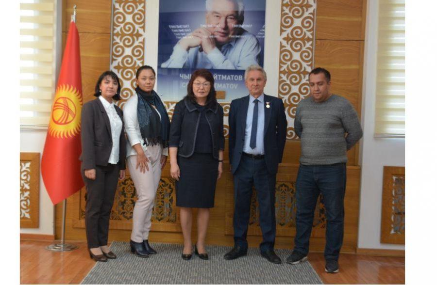 Визит ученых с Узбекистана