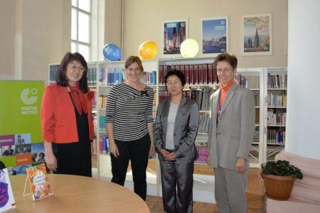 Встреча с известной в Германии писательницей Штефани Хёфлер