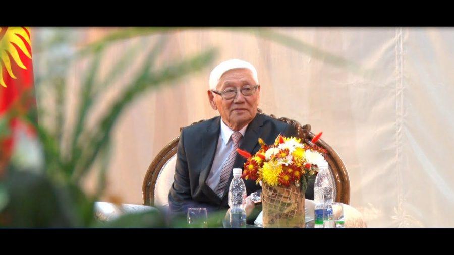 80-летие известного журналиста, заслуженного деятеля культуры Кыргызстана  Т. Ишемкулова