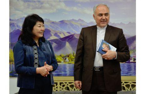 Визит ЧПП Ирана в КР Саид Харрази