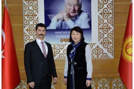 Визит Программного Координатора Турецкого управления по сотрудничеству и развитию  в Кыргызской Республике Османа Уста