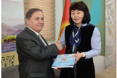 Визит Чрезвычайного и Полномочного посла Венгрии в Кыргызской Республике Шандор Дороги
