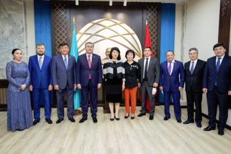 Встреча с Заместителем Премьер-Министра – Министром иностранных дел Республики Казахстан Мухтаром Тлеуберди